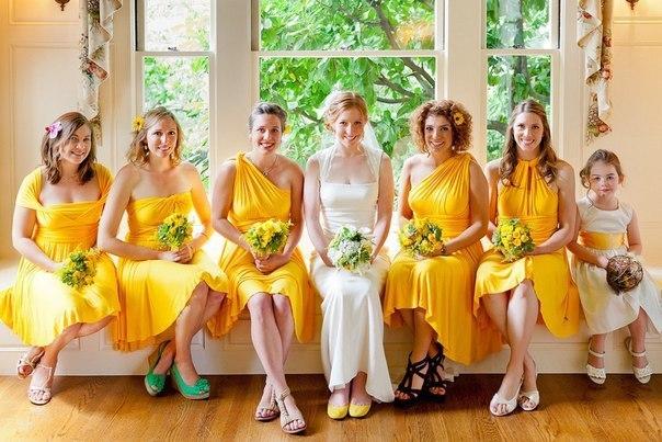 Тюмень платья подружек невесты